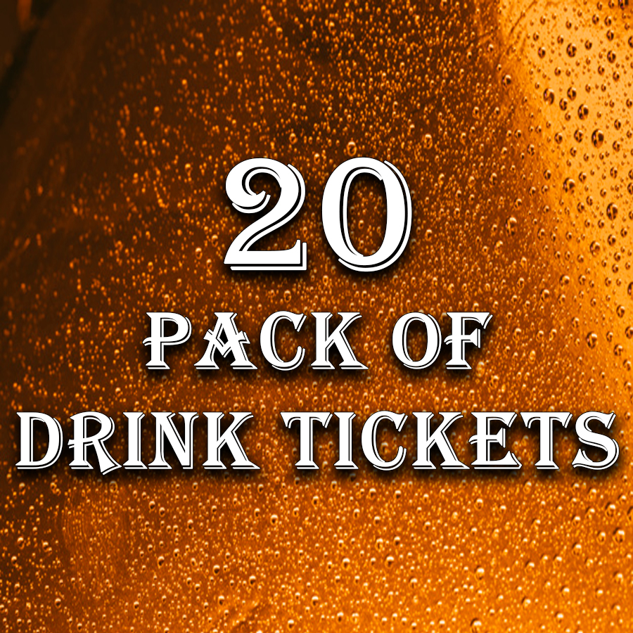 20 Pack of Drink Tickets